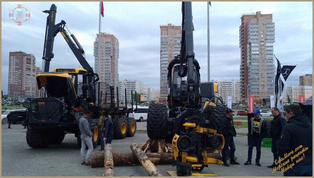 выставка техники, выставка военной техники, выставка техники 2017, выставка строительной техники